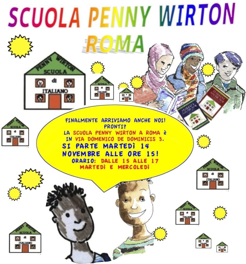 Penny Wirton Roma torna