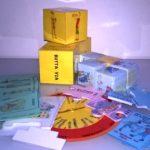 Dadi, cartine, dischi, puzzle