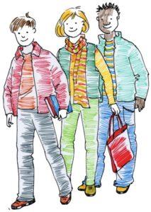 tre studenti