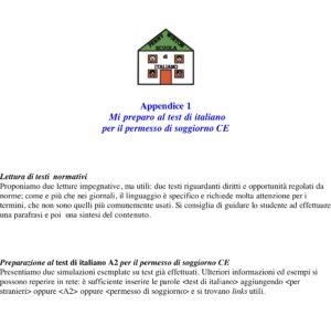 Appendice per l'esame A2, Italiani anche noi (blu)