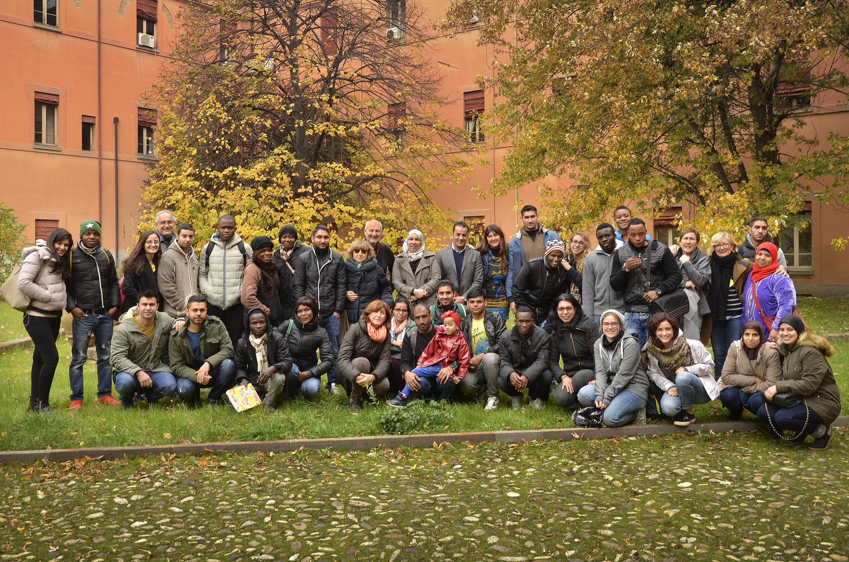 Penny Wirton Forlì, novembre 2016: gruppo scuola